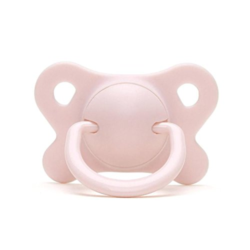 Lovely Baby Pacifier Silicone Dummy Nipple Chupeta For Toddler Infant Pacy Orthodontic Teat Teeth Soothers For Baby Feeding D3 pink (Caliber Blank Gun)