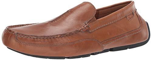 CLARKS Men's Ashmont Race Shoe, Light Tan Leather, 105 M US Clark Shoes For Men