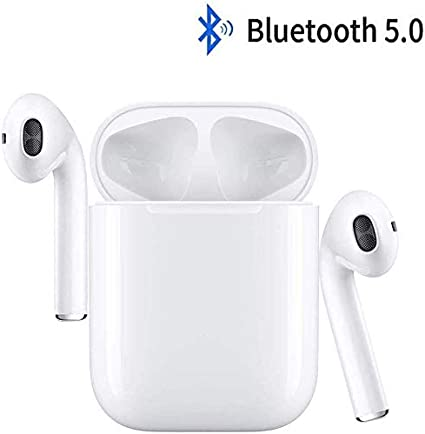 /écouteurs Sportifs avec IPX5 /écouteurs st/ér/éo /étanches dans loreille Int/égr/é HD Mic Casques pour iPhone Android//Airpods whuusad /Écouteurs sans Fil Bluetooth 5.0 avec r/éduction de Bruit