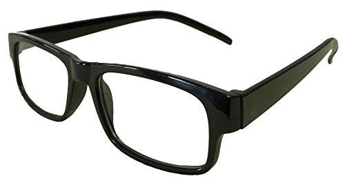 (Mr. Reading Glasses [+1.50] Plastic Frame Unisex Pair of Reading Glasses - (+1.50, Black))