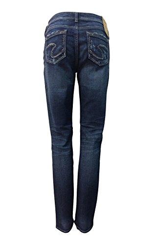 Leg Dark Wash Jeans - 6