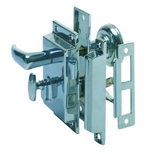 Perko Rim Lock St W/bolt-box Strike 0918dp0chr ()