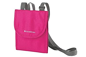 Valuables Travel Neck Pouch Easy Carry Teal Secure