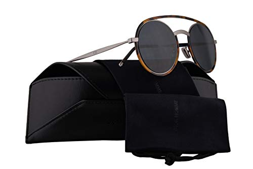 226aec6147 Christian Dior Homme DiorSynthesis01 Sunglasses Yellow Red Havana w Blue  Mirror Gold Gradient Lens 51mm