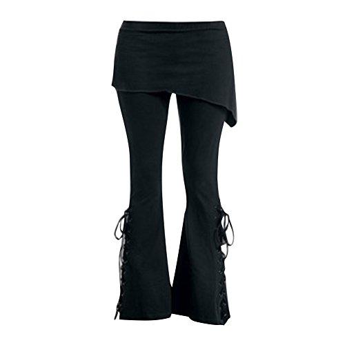 1 Floreale Abbigliamento 5XL M Legging Moda Fasciatura Pantaloni Ufficio Retro Pantaloni con Vita Alta Gotico Casuale Minigonne Donna Stampato q6wp1U6