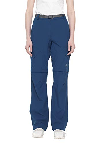Little Donkey Andy Women's Stretch Convertible Pants Zip-Off Quick Dry Hiking Pants Navy Size XXL