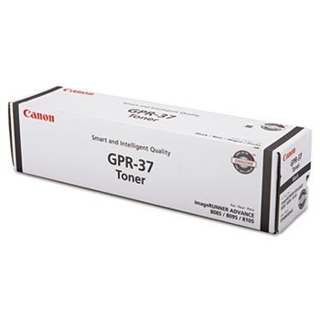 Canon 3764B003AA GPR-37 Black Toner CartridgeCanon GPR-37 3764B003AA ImageRunner Advance 8085 8095 8105 8205 8285 8295 8505 8585 8595 Toner Cartridge (Black) in Retail Packaging