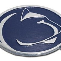 Penn State University (Nittany Lion) Emblem w/ Navy by Elektroplate