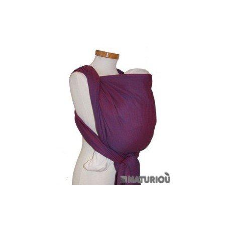 Storchenwiege Woven Cotton Baby Carrier Wrap 3.6, Leo Violet