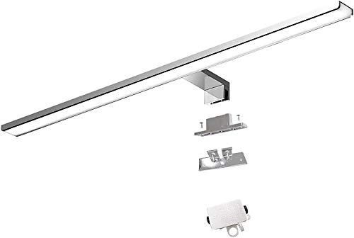 Cywer espejo pared | Lampara de espejo | espejos de bano | cuadros para el bano| aplique espejo bano| espejo bano con luz | 56cm | IP44 | 10 8w | 1000lm | 230V espejo del cuarto de bano
