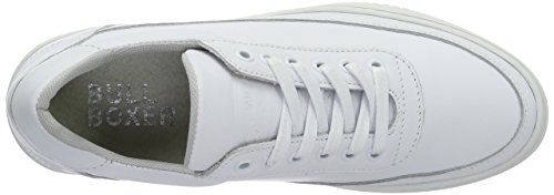 Bullboxer Women's Sneakers Trainers White (Ice) 5MhNkfZzc