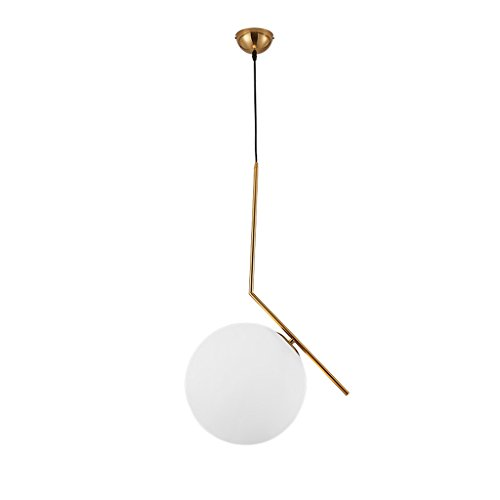 Wsxxn Luxury Creative Chandelier with Nordic Pendant Light, Personalized Bedside Candelabra and Mini Bedside Lamps Pendant Lighting Lantern Lamps (Size : Diameter 20cm) by Wsxxn