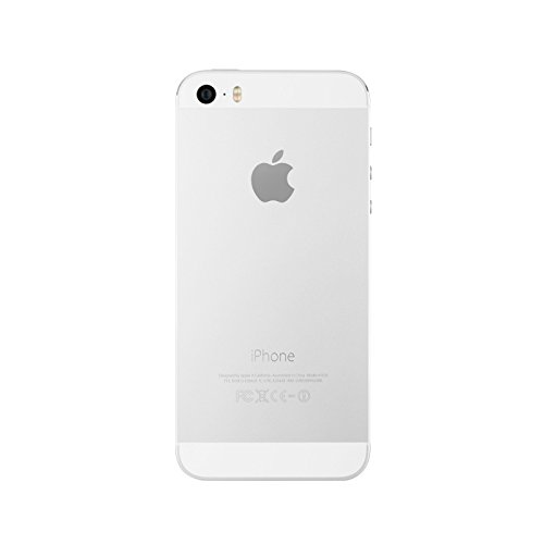 Apple iPhone 5S, AT&T, 16GB – Silver (Refurbished)