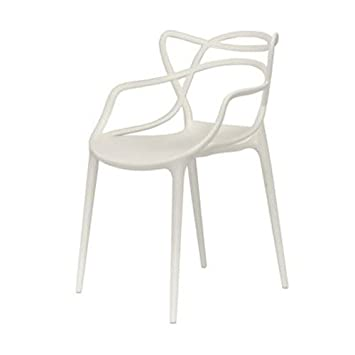masters white plastic chairs. kartell masters 586503 chair white plastic chairs w