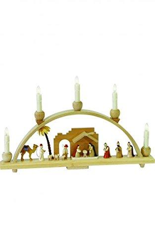(Alexander Taron 1228 Richard Glaesser Arch-Nativity Scene-11.25