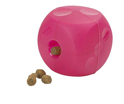Kruuse Buster Soft Mini Cube Feeder, Magenta Red