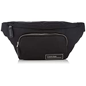 Calvin Klein Mens Primary Waistbag Shoulder Bag Black (Black)