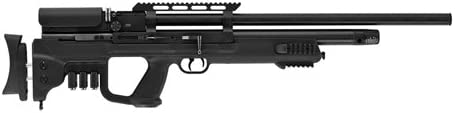HATSON Gladius PCP Air Rifle .25 Caliber 19.40 Barrel 9 Rounds Synthetic Stock, Black