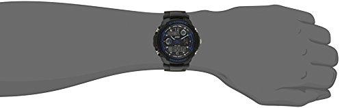 SKMEI Multi Function Military S-shock Sports Watch LED Analog Digital Waterproof Alarm (Blue)