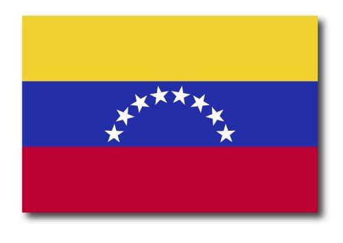Venezuela Flag Car Magnet Decal - 4 x 6 Heavy Duty for Car Truck SUV