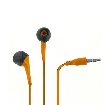 EMPIRE New Apple iPhone 5 / 5G 3.5mm Stereo Earbud Headphones Kopfhörer (Orange)