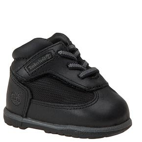 INFANT'S/NOUVEAUX-NE TIMBERLAND FIELD CRIB BOOTIE BLACK (24809), 0 M (Infant Boots Timberland)