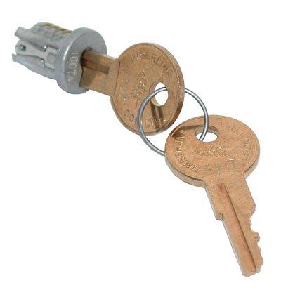 Timberline Lock Plug Satin Nickel Keyed Alike Key Number 100