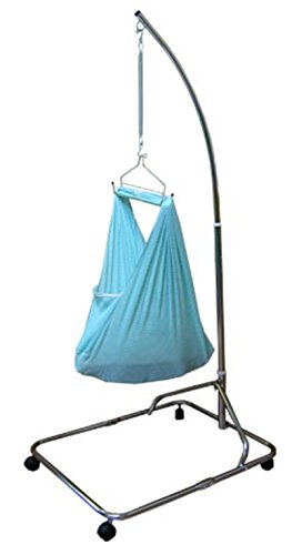 Blue Baby Hammock / Baby Cradle Net Southeast Asia Sarong Cradle Rocker Set- Blue NETTING BABY CLUB HAMMOCK ONLY by BABY CLUB