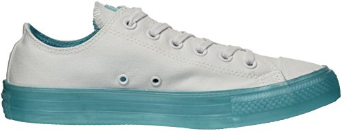 White Aqua Star Candy Chuck Bleached All Taylor Coated Converse Top Low Sneaker Women's w7qvTT
