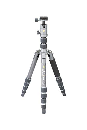 Vanguard VEO2GO265CB Carbon Fiber Travel Tripod with Ball Head for Sony, Nikon, Canon, Fujifilm Mirrorless, Compact System Camera (CSC), DSLR (The Best Compact System Camera)
