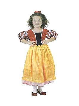 DISBACANAL Disfraz Blancanieves Infantil - Único, 7-9 años: Amazon ...