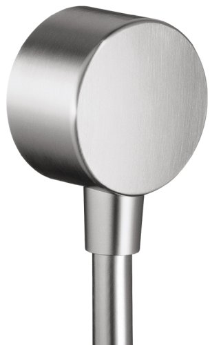 Hansgrohe Axor Wall Outlet, Stainless Steel Optic #35884801