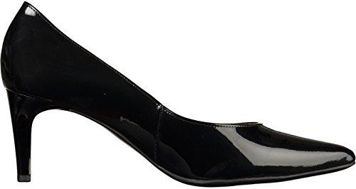 Högl 1-10 6704, Chaussures à Talons - Avant du Pieds Couvert Femme Noir