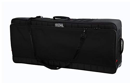Access Gig Bags - Gator Cases Pro-Go Ultimate Keyboard Gig Bag with Removable Backpack Straps; Fits 61-Note Keyboards (G-PG-61)