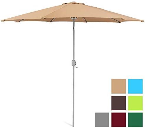 Best Choice Products SKY130 Umbrella B00IFR3EUI, 9ft, Beige