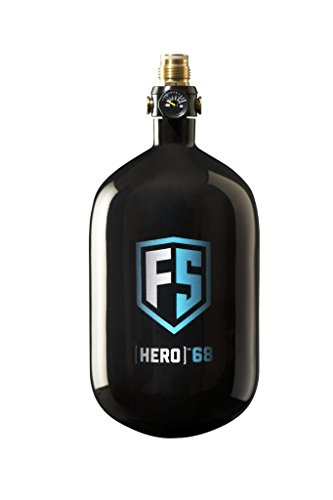 First Strike Hero Carbon Fiber HPA Tank - 48/4500 - Black by First Strike
