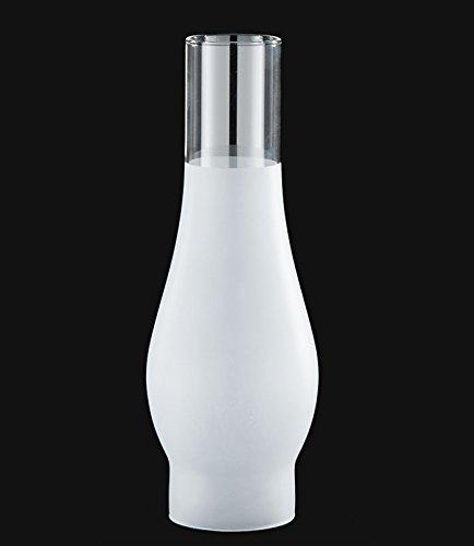 "B&P Lamp 2 5/8"" X 10"" Chimney, 3/4 Frost"
