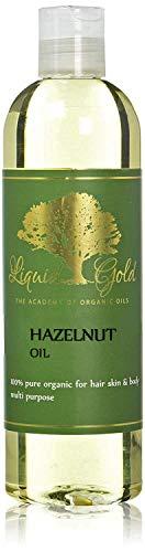 12 Oz Hazelnut Oil 100% Pure Organic Cold Pressed Moisturizing Oil Acne Inflammation Hair Care Skin Care ()