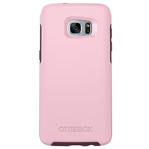 OtterBox Symmetry Series Case for Samsung Galaxy S7 Edge, Rose (Bubblegum Pink/Merlot Purple) - Standard Packaging
