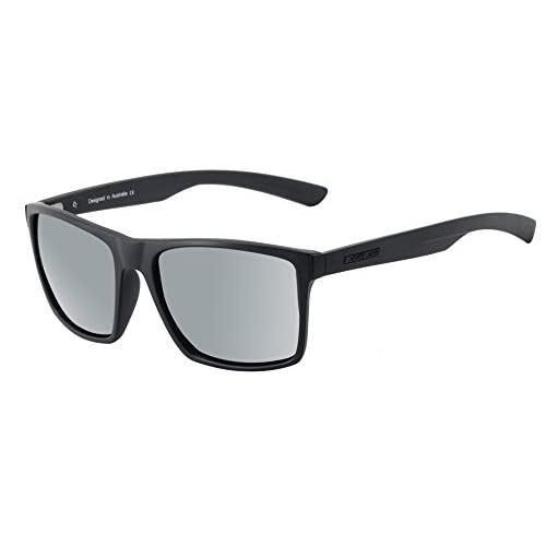 6b21d8733e En venta Dirty Dog volcán Wayfarer Gafas de sol en satén negro con espejo de  plata