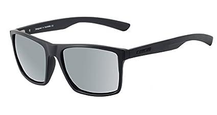 Dirty Dog volcán Wayfarer Gafas de sol en satén negro con ...