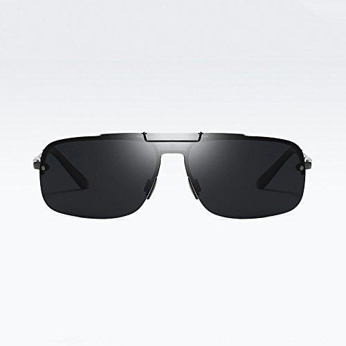 Polarizadas Gafas Gafas Nuevos Gafas Black Gafas EquitacióN De A Libre De De Deportes Al Sol Viaje Aire De Sol Aluminio Prueba Magnesio De Viento gv0pqW5Y