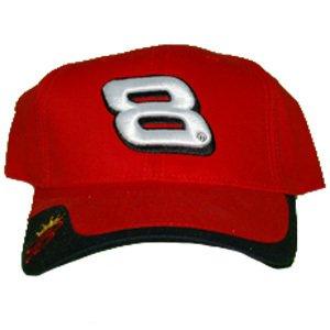 "NASCAR Dale Earnhardt Jr #8 Budweiser ""Sideswipe Series"" Adult Velcro Back Cap Hat from Winners Circle"