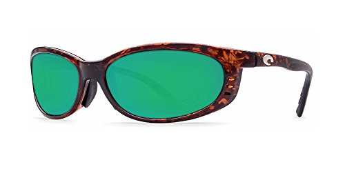 COSTA DEL MAR FATHOM TORTOISE GLOBAL FIT GREEN MIR - Fathom Sunglasses