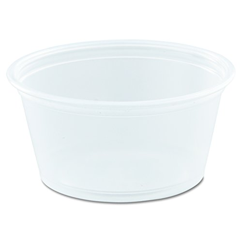 Dart 200PC Conex Complements Portion/Medicine Cups, 2oz, Clear, 125 Per Bag (Case of 20 (Dart Conex Clear Cup)