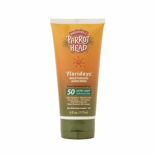 Parrot Head Floridays hydra-protection ultra léger Lotion Hydratante, SPF 50-6 Oz