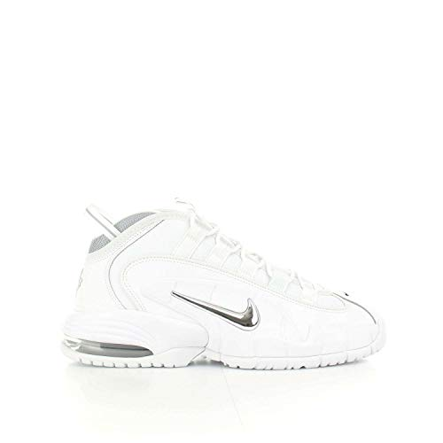 Nike Air Max Penny Men's Shoes White/Metallic Silver 685153-100 (11.5 D(M) US) -  685153_100