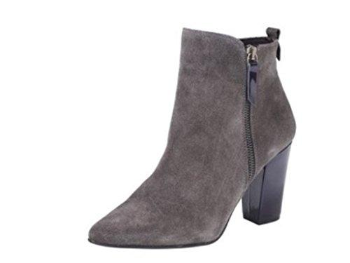Heine - Botas de Piel para mujer gris gris