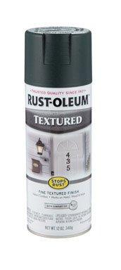 12 Oz Forest Green Stops Rust Textured Enamel Spray Paint 7222-830 [Set of - Spray Green Stops Rust