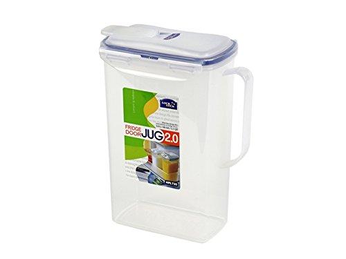 - LOCK & LOCK Fridge Door Water Jug with Flip Top Lid 70.55-oz / 8.5-cup